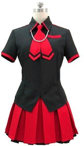 Kukucos Anime Dress BLOOD-C The Last Dark Saya Uniform Cosplay Costume Abito sexy per ragazze Jung Women