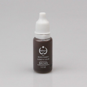 Trucco permanente pigmento inchiostro del tatuaggio Set 15ML BROWN Micro pigmento usato per MicroBlade macchina della penna Tatuaggio