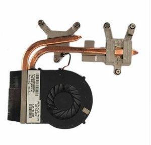 dispositivo di raffreddamento per HP DV6-3000 DV7-4000 DV6 DV7 ventola di raffreddamento con dissipatore di calore 631743-001 610777-001 610778-001 606575-001