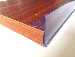바닥 나무 선반 보드 채널 선반 클립 태그 레이블 홀더 데이터 화자 라벨 카드 배너 프레임 가격 2-3cm 스트립 두꺼운 U RGFou
