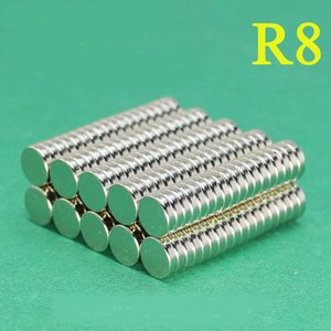 Selling hard magnet by bag, 50pcs per bag N35 magnet of size Dia8mm, 2mm thickness,Industrial magnet,daily magnet,