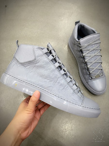 Vente chaude Pas Cher Marque De Haute Qualité Chaussures Arena Chaussures Hautes Baskets, Chaussures de Luxe Pour Hommes À La Plisse Ride