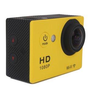 qualidade Hot Camera W9 Full HD 1080p WIFI Ação Mergulho exterior 30M impermeável Câmeras SJ6000 170 ° lente 2.0LCD Camera Desporto DV