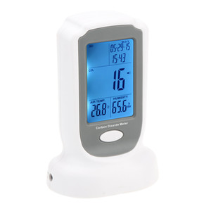 Freeshipping Analizadores de Gas de Alta Calidad Portátil Preciso Medidor de CO2 monitor detectorTester Handheld Detector de Dióxido de Carbono