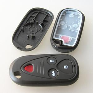 Livraison gratuite 10 pcs / lot À Distance Clé Shell 4 bouton clé de la clé de voiture clé vierge Pour Acura Case FOB 3 + 1 Boutons