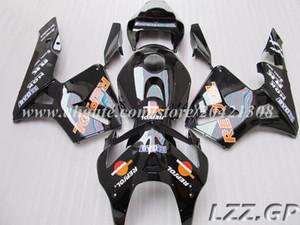 черный REPSOL для Honda CBR600RR F5 2005 2006 CBR600RR 05 06 CBR600 RR 2005 2006 F5 обтекатель комплекты # v73e6 обтекатели + бак
