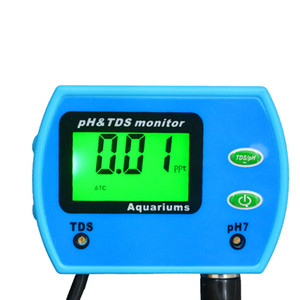 Оптовая продажа-новый мини высокое качество многофункциональный параметр хорошее качество воды монитор РН TDS метр Многопараметровый анализатор качества воды