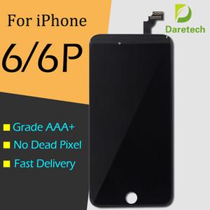 للحصول على شاشة LCD فون 6S فون 6 زائد مع محول الأرقام شاشة تعمل باللمس كاملة الشحن المجاني