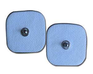 مربعات عشيق مربعة 5x5cm TENS EMS آلة الأقطاب الكهربائية الوسادة قابلة لإعادة الاستخدام LONG-LIFE الذاتي لاصق للتدليك آلة العلاج الرقمية