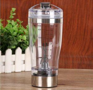 STOKTA VAR !!! 2017 Yeni 450 ml Elektrikli Protein Shaker Blender Su Şişesi Taşınabilir Elektrikli Otomatik Hareketi Karıştırıcı Karı ...