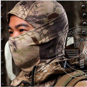 Exterior del capó táctico máscaras de ciclo táctico para correr máscaras hombres jefes turbante Bufanda de ciclo el casquillo mágico sombrero del deporte capuchas de gimnasia