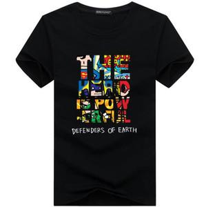 2017 nueva ropa para hombre negro camiseta larga de los hombres tops hip hop tee camiseta de los hombres de hiphop de manga corta palangre camiseta casual camisetas
