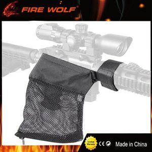 FIRE WOLF AR-15 Ammo Brass Shell Catcher Trappola a rete con cerniera Chiusura per Quick Download Nylon Mesh Nero Spedizione gratuita