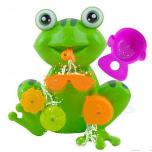 FUN Toddler Bath Toys - Interactive Frog Bath Toy for Toddlers - the Best Toddler Bathtub Toy Educational Bath
