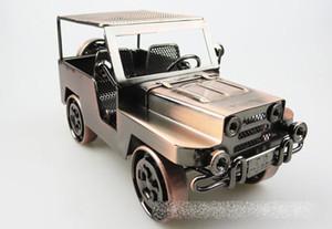 Retro-Stil Eisen Kunst kreative handgemachte Jeep Offroad Fahrzeug Auto Modell Spielzeug - American Style Metal Home Decor - Geburtstagsgeschenk-Sammlung