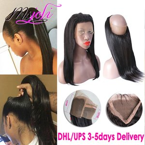 9A 360 Lace Frontal Pre-Plucked Malaysian Straight 100% Human Virgin Hair Beauty Free Part Unprocessed Hair New Arrival 8-22 Inches