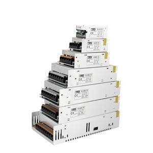 MJJC 12W 24W 60W 100W 120W 150W 200W 360W 400W Fuente de alimentación LED de conmutación 12 voltios 24V DC para 3528 5050 5630 3014 7020 Tiras LED