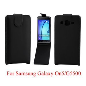 Phone Bags Flip Cover For Samsung Galaxy On5 G5500 phone case Back coque leather Flip Vertical Up-Down Open skin pouch Phone Cover