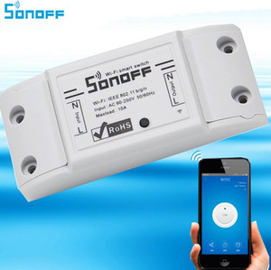 Sonoff Wifi Switch Universel Smart Home Automation Module Minuterie DIY Switch Switch Sans Fil Télécommande via Smart Phone 10A / 2200W