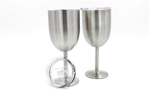 2017 10oz New RTIC Style WINE GLASS Cup Stainless Steel True North Free shipping DHL