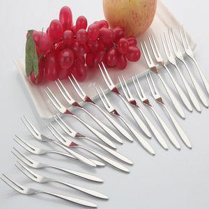 Acero inoxidable nuevo diseño 1Ponga postre pastel de frutas Forks Peeler Con Caja de almacenamiento Dinerware Set Ensalada de herramientas Accesorios de Cocina