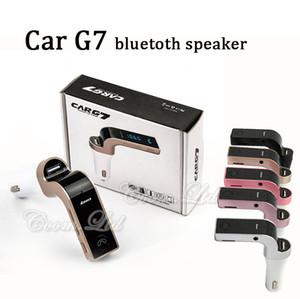 새로운 도착 자동차 G7 다기능 5V 2.5A 자동차 충전기 FM 송신기 무선 음악 플레이어 차량 오디오 지원 Handfree SD TF 카드