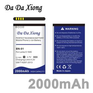 Da Da Xiong 2000mAh BN 01 BN-01 BN01 Li-ion Phone Battery for NOKIA X 1045 RM-980 Normandy   X2 X+ Plus 1013 X2DS phone