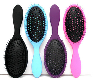 Hot Wet Dry Hair Brush Original Detangler Hair Brush Masaje con peines con bolsas de aire para el cabello húmedo Shower Brush DHL libre