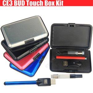 CE3 BUD Touch Boîte Colorée Kit 510 Cartouche Épaisse Vaporisateur D'huile Atomiseur O Pen vapeur Waxy vape e cigarettes Mini cartomizers WAX Réservoir DHL