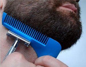 DHL Barba Bro Bar Shaping Tools Sex Man Gentleman Trim Template modelado de plantilla de corte de pelo moldeado