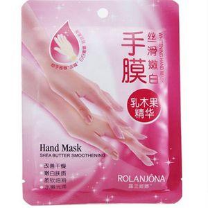 ROLANJONA whitenging hand mask shea butter smoothening Peeling RenewalRemove Dead Skin Smooth Exfoliating Moisturizing Gloves