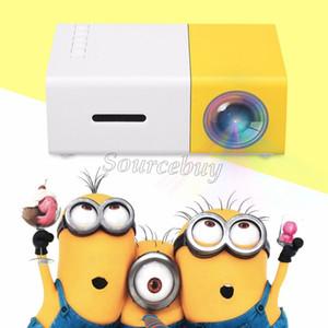 TFT LCD Mini proiettore YG300 LED Multimedia Multimedia AV Sistema di raffreddamento HDMI 1920 * 1080 Portable Theater Home Cinema Videogiochi Pocket Proyector