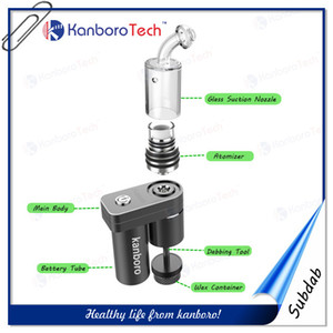 2016 Kanboro Subdab usb electronic cigarette Minimum Dabber E-cigarette for Traditional Big Bongs Hookah with Wax Container and Wax Spoon.
