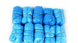 Одноразовые бахилы Пакет 100 шт. / защитить ваши ковры и полы один размер подходит для всех EMS Бесплатная доставка