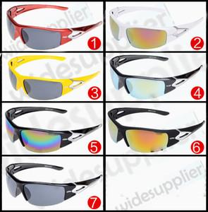 2017 beliebte Sonnenbrille Brillen Mode Großen Rahmen Sonnenbrille Marke Designer Sonnenbrille für Männer und Frauen Günstige sonnenbrille 7 Farben
