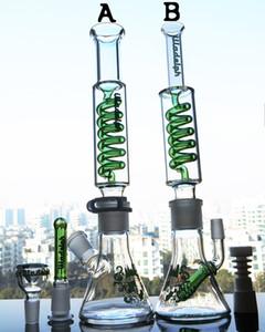 Renkli cam kabı bongs! Klipler ile Sigara borular petrol sondajı teçhizat Coil Çıkarılabilir Freezable Seramik Seramik Tırnak ile