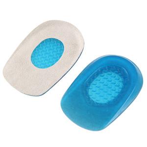 3 Paar Fußpflege Weiche Silikon Gel Halbeinlagen Schuh Pad Erhöhen Ferse Schmerzlinderung Für Schuhe Orthesen Einlegesohlen Pediküre Werkzeuge