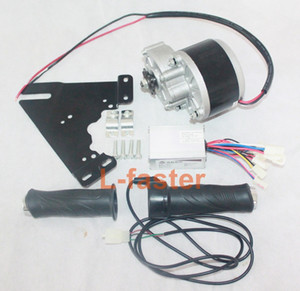 24V 250W Electric DC Motor + Controller + Throttle Electric Bike Brush Motor Conversion Kit Electric Scooter Motor kit