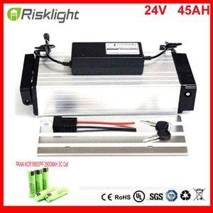 Di alta qualità E-bike Akku posteriore Rack batteria 24V 45AH al litio batteria da 24V bici elettrica per 250w 500w motore delle cellule Usa Panasonic