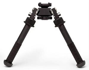 Quick Detach Gewehr Zweibein Atlas V8 BT10-LW17 Zweibein 21,7 mm Standard Weaver Schienenhalterung mit ADM 170-S-TAC-R Hebel für Pistole / Gewehr / AR15