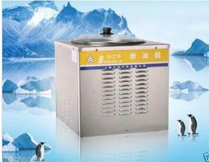 Nova máquina de fazer sorvete Ice Cream Fryer, máquina de sorvete frito