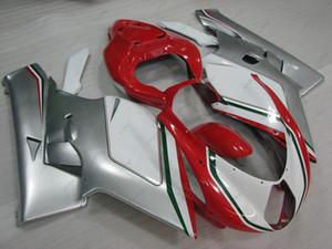 Full Body Kits for MV AGUSTA F4 1+1 1000 cc 06 Body Kits 2005 Silvery White Red Fairing Kits F4 1000 CC 2006 2005 - 2006
