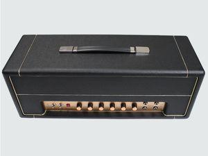 JTM45 50W Cabinet de style Vintage Main câblé Toute Tube Électrique Guitare Amplificateur Tête en noir avec tube KT66 Instruments de musique Livraison gratuite