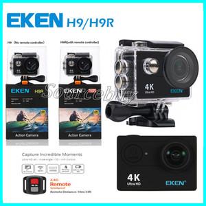 Action-Kamera Original-EKEN H9 / H9R Fern Ultra HD 4K WiFi 1080P 60fps 2.0 LCD 170D Sport gehen wasserdicht pro Kamera deportiva