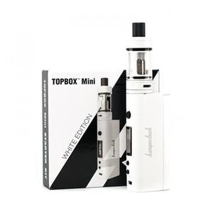 Kanger Topbox Mini Starter Kit 75 W TC ecigarette 4 ml tanque vaporizador cigarros eletrônicos com caixa de kbox mod 510 thread atomizador vs subox min