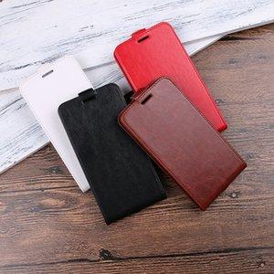 Custodia in pelle di flip cavallo pazzo pazzo per Samsung Galaxy XCover4 J510 Custodia in pelle di zinco per HTC U11 ZTE Blade A6 Lite L5 PLUS X3 pazzo 50PCS
