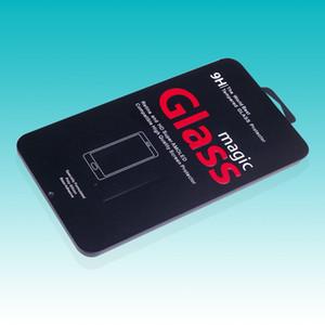 Metal rectangular de la forma al por mayor del metal de la caja 100pcs metal simple de la forma para la caja de empaquetado del protector de la pantalla de cristal