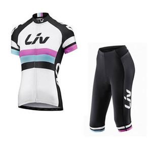 여성용 마운틴 레이싱 자전거 사이클링 의류 세트 / liv Breathable Bicycle Cycling 유니폼 Ropa Ciclismo 및 3/4 Cycling shorts Sportswear