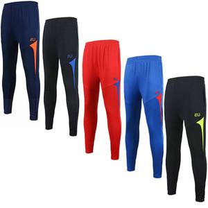 2017 homens da UE esportes correndo calças de treinamento de futebol calças de secagem rápida calças