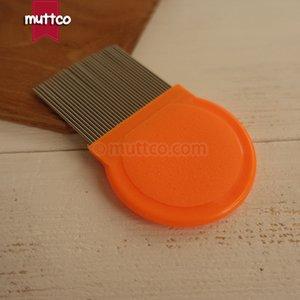 pettine in metallo con denti lunghi e densi per la pulizia del pettine per cani con peli di cane DCO-A015